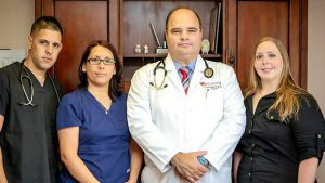 Dr. Alonso's practice encompasses all aspects of cardiovascular medicine.